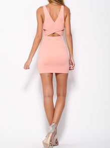 Sexy pink cocktail dresses