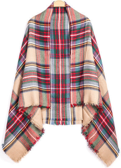 Scarf Fall Winter Fashion Plaid Warm Comfy Trendy Scarves
