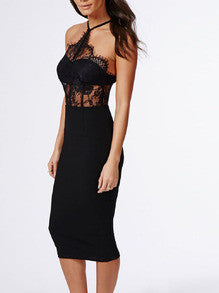 Sexy Black Lace Dress a Perfect Party Dress for the Holidays and New Years