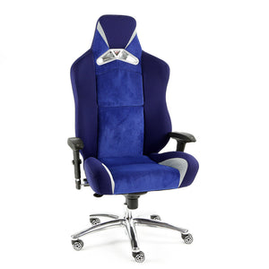 ProMech Racing GT-992 Office Racing Chair Midnight / Egyptian Blue (Fabric)