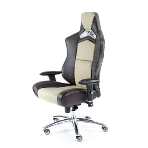 ProMech Racing GT-992 Office Racing Chair Taupe Tan (PU)