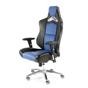 ProMech Racing GT-992 Office Racing Chair Insignia Blue (PU)