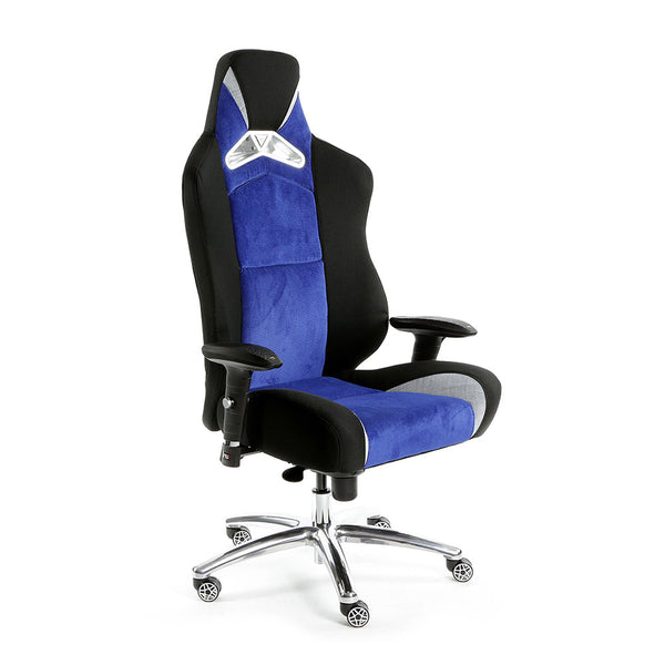 ProMech Racing GT-992 Office Racing Chair Egyptian Blue (Fabric)