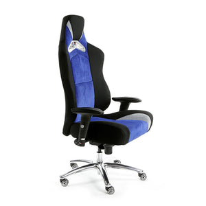 ProMech Racing GT-992 Executive Office Racing Chair Egyptian Blue (Fabric)