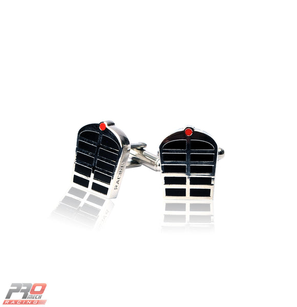 ProMech Racing Classic Grill Cufflinks Giftbox Racing Sound Box Set