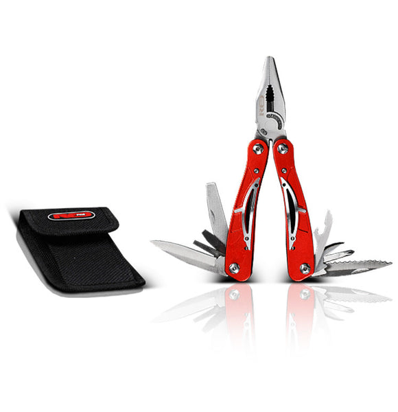 Red Pro Tools Multifunction Utility Pliers Professional Workshop Tools