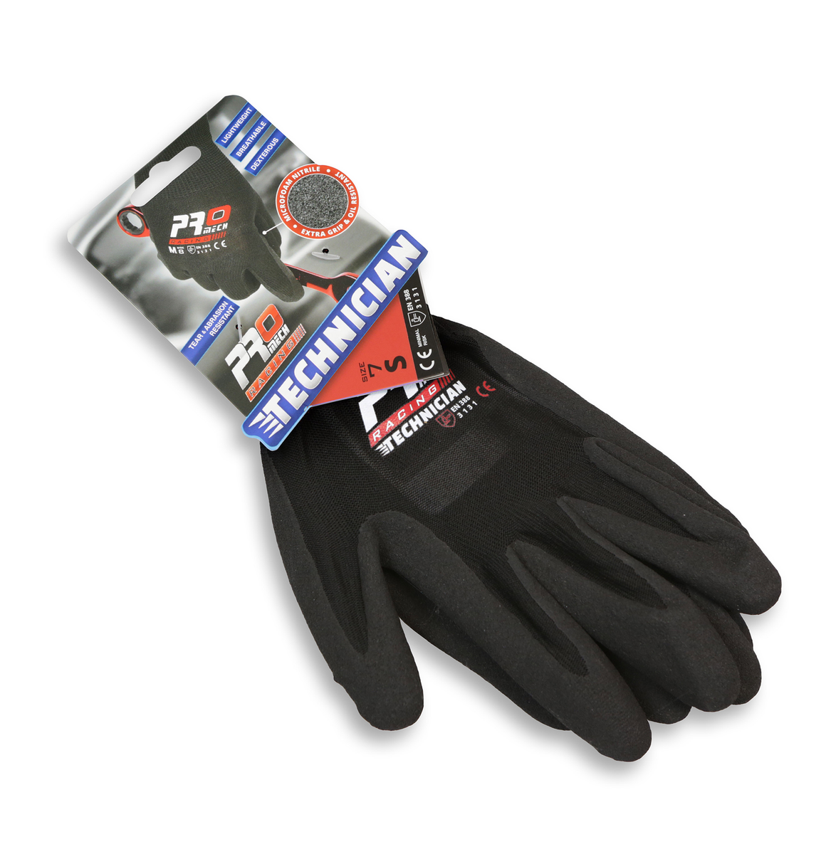 ProMech Racing Technician Gloves - Size 7 (M)