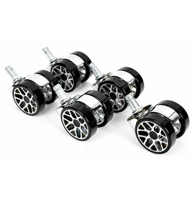 Promech Racing Spare Wheels For Office Chair Low Profile Alloy Wheel Promech Racing