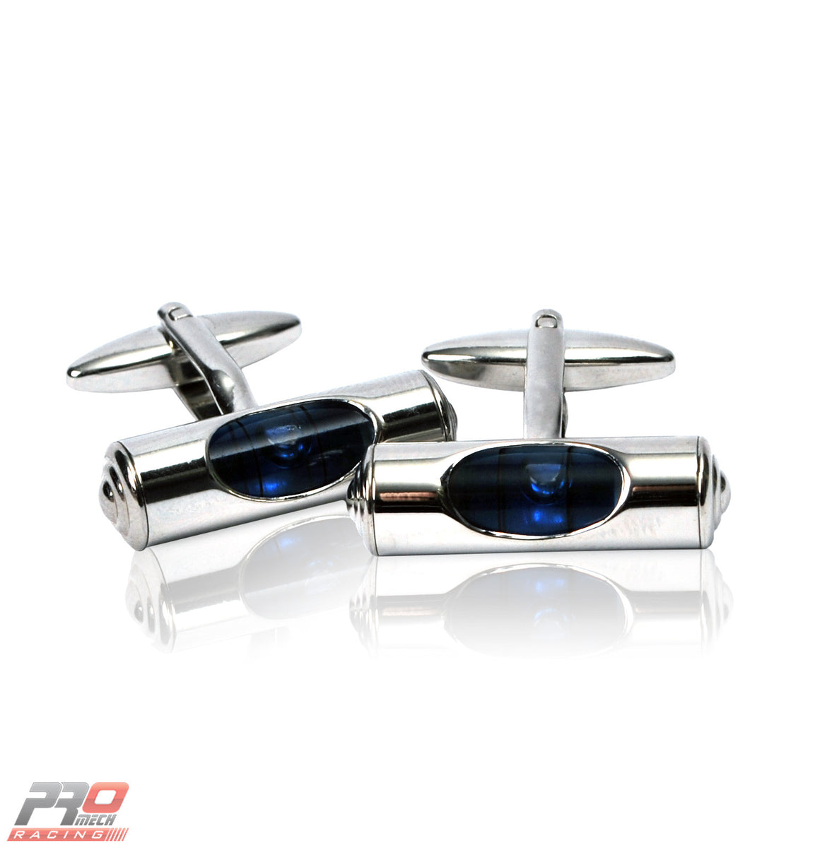 ProMech Racing Spirit Level Cufflinks Giftbox Set