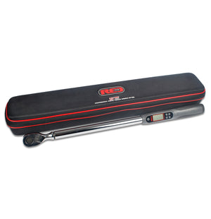 "Red Pro Tools Digital Torque Wrench 1/2"" Fitting 600mm Soft Case Tools"