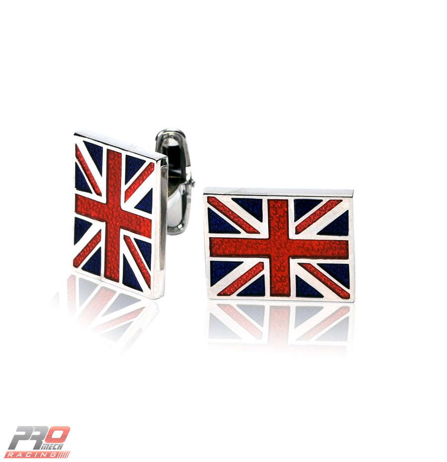 ProMech Racing Union Jack Cufflinks Giftbox Set