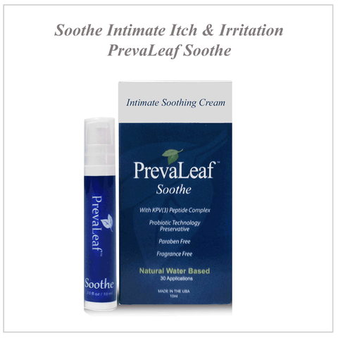 PrevaLeaf™ Soothe Natural Vaginal Soothing Cream 1 ml Sachet - Box of 10.