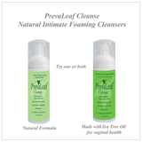 PrevaLeaf™  Cleanse Intimate Foaming Cleansers