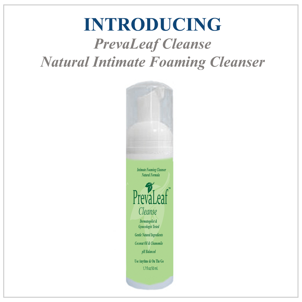 Bundle PrevaLeaf™ Oasis Natural Daily Vaginal Moisturizer & PrevaLeaf™ Cleanse Foaming Cleanser