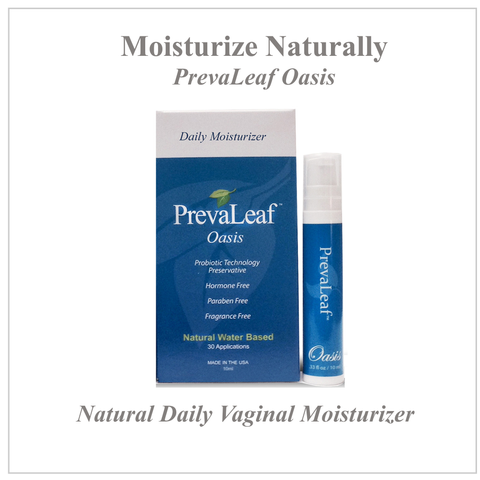 PrevaLeaf™ Oasis Travel Sized Natural Daily Vaginal Moisturizer