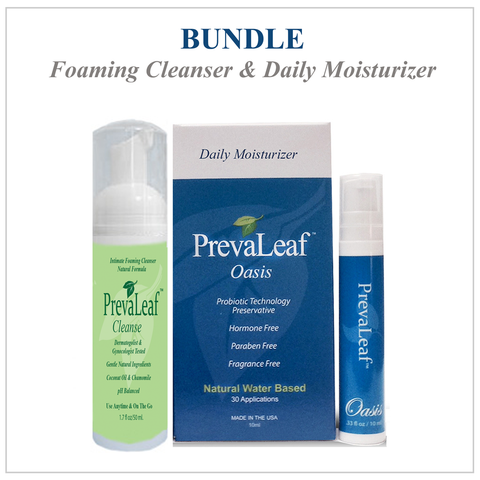 Bundle - PrevaLeaf™ Probiotic Boost & Soothe Natural Vaginal Soothing Cream