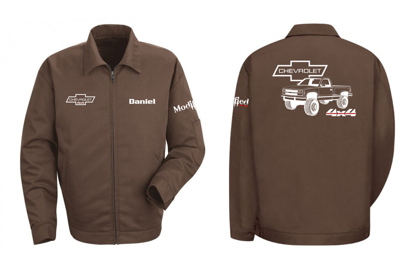 1989 Chevy Stepside 4x4 Truck Mechanic's Jacket