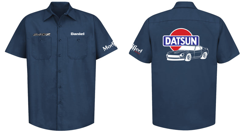 Datsun 240z Mechanic's Shirt