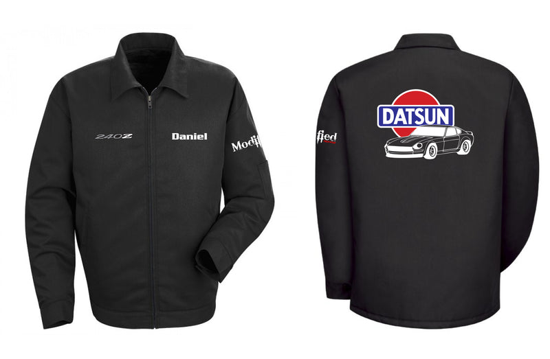 Datsun 240z Logo Mechanic's Jacket