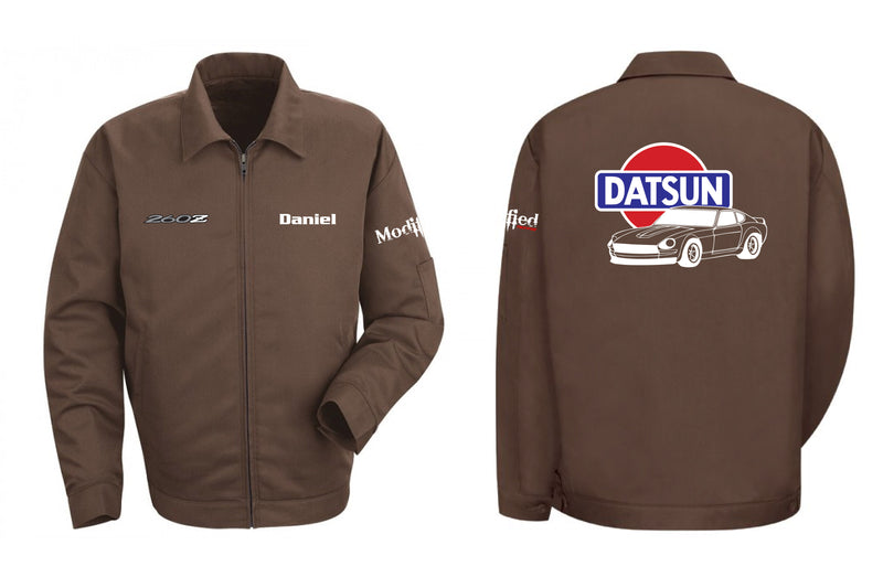 Datsun 260z Logo Mechanic's Jacket