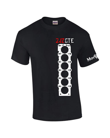 2JZGTE Head Gasket Shirt Black