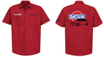 Datsun 510 logo Mechanic's Shirt