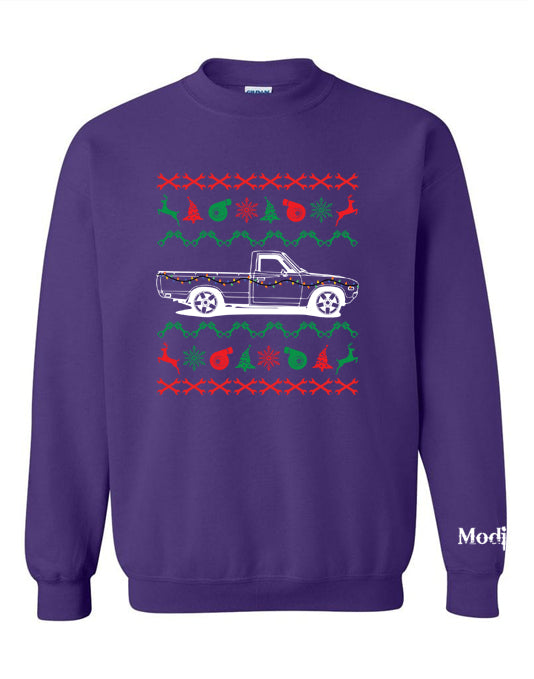 Datsun 620 Ugly Christmas Sweater Sweatshirt