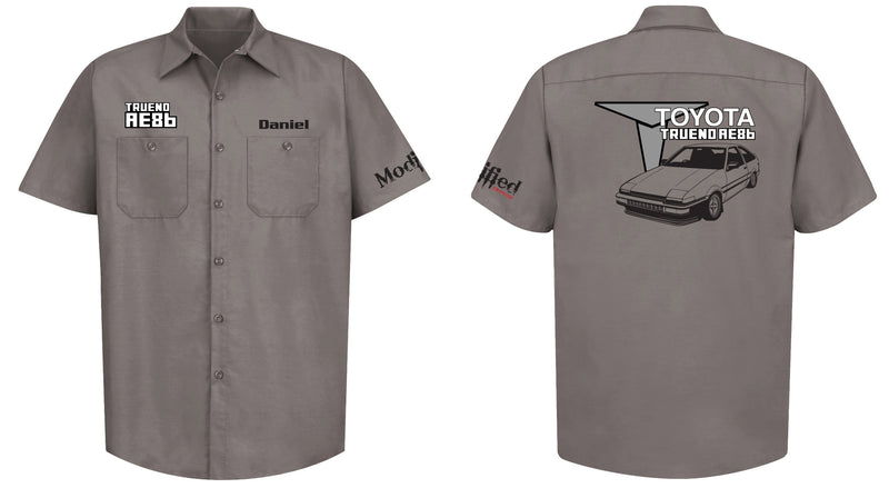 Toyota AE86 Trueno Hatch Mechanic's Shirt