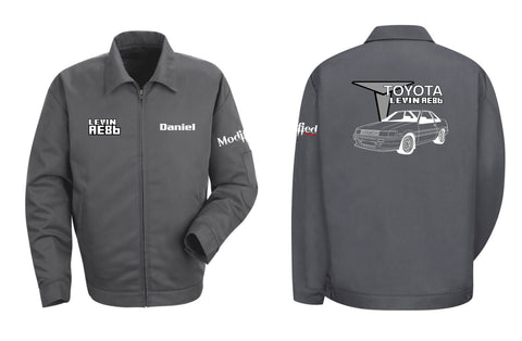 Toyota AE86 Levin Coupe Mechanic's Jacket