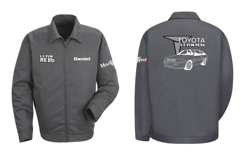 Toyota AE86 Levin Hatch Mechanic's Jacket