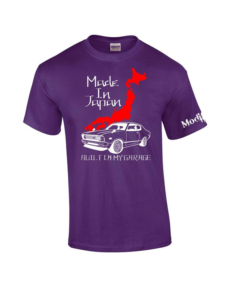 Made in Japan Front B210 2 Door Sedan Shirt