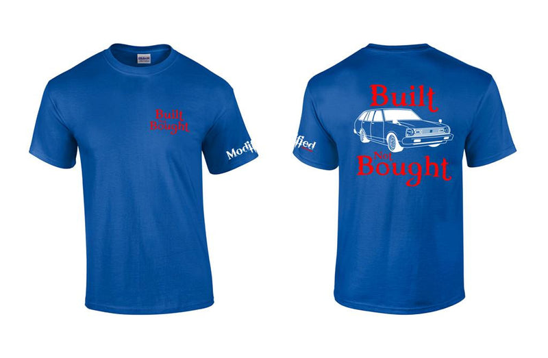 "Built not Bought B310 Wagon ""Round Eye"" Shirt"