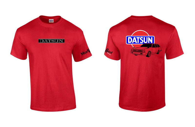 "Datsun B310 Wagon ""Round Eye"" Logo Shirt"