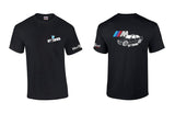 BMW E36 Sedan M Logo Shirt