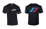 BMW E36 Sedan Stripes Shirt