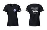 VW Bay Window Bus Diamonds Ladies Shirt