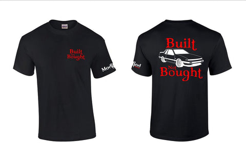 Built not Bought S12 Coupe Shirt