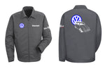 VW Bug Ragtop Logo Mechanic's Jacket