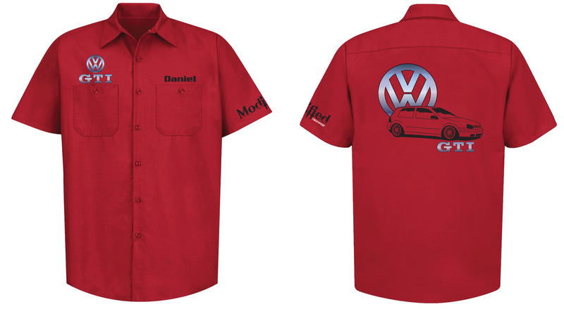 VW Golf GTI MK4 Mechanic's Shirt
