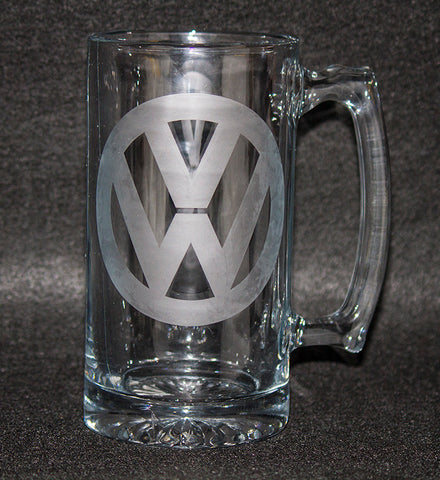 VW Logo Beer Mug