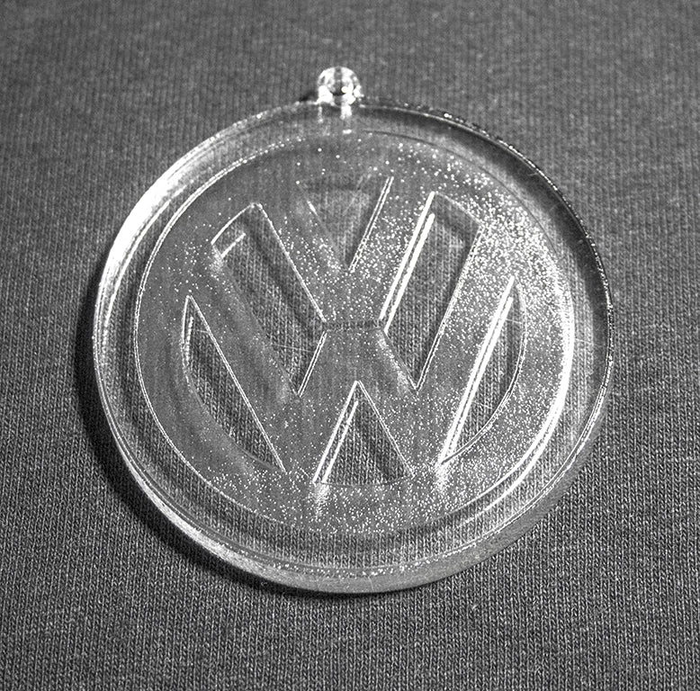 VW Logo Christmas Ornament
