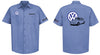 VW Notchback Logo Mechanic's Shirt