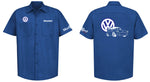 VW Squareback Logo Mechanic's Shirt
