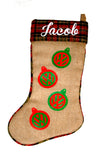 VW Logo Christmas Stocking
