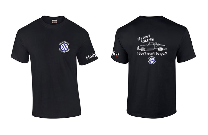 Air Cooled Obsession Karmann Ghia Shirt
