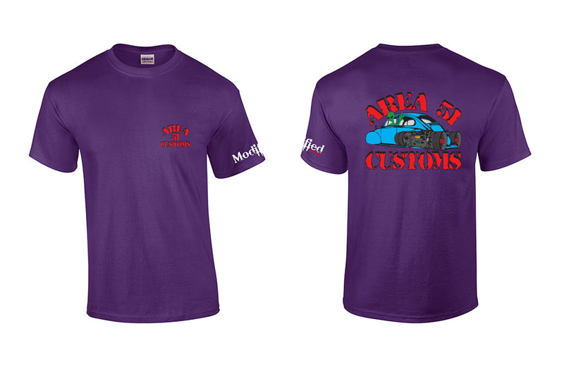 VW Bug Area 51 Customs Shirt