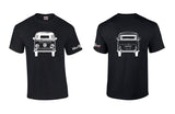 VW Bay Window Bus Front/Back Shirt