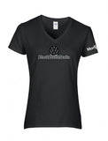 BlackBeetleMafia Ladies V-Neck Shirt