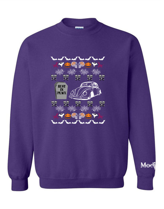 VW Bug Halloween Ugly Sweater