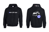 VW Bay Window Westy (Early) Hoodie